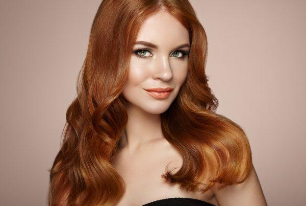 Enjoy red hair without purple undertones.