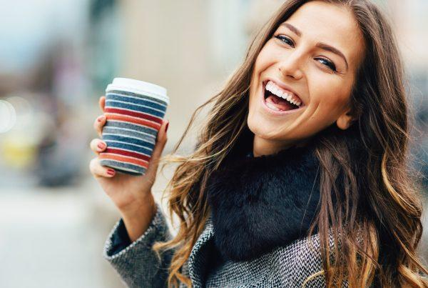 Enjoy a hot coffee with your coffee-colored locks once you try one of these low-maintenance hair coloring trends for fall.